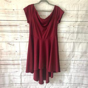 *3/$18*Brandless Hi-Lo Scoop Neck Dress